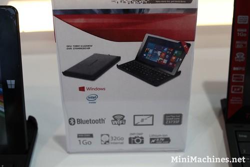 Une tablette hybride 8 pouces chez Thomson