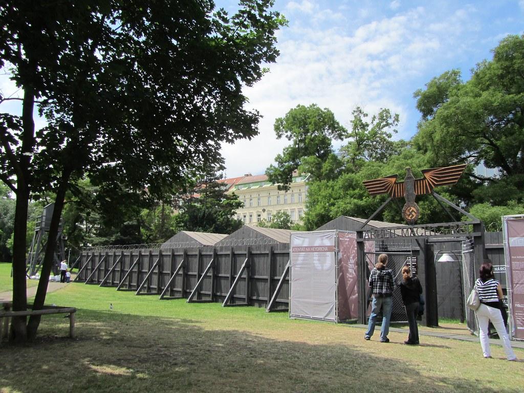 Campo de concentración en Praga