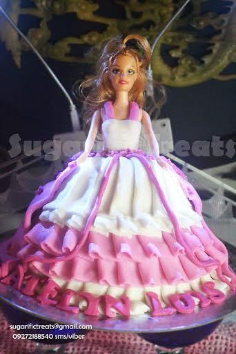 Doll Princess Cake by Sugarific Treats
