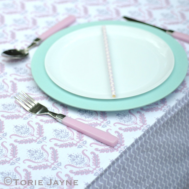 Handmade tablecloth tutorial