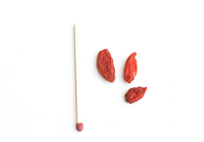 Size of Goji Berries