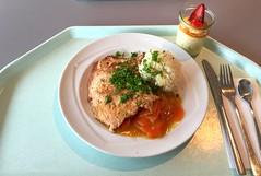 Japanese ginger steak with honey carrots & ric…