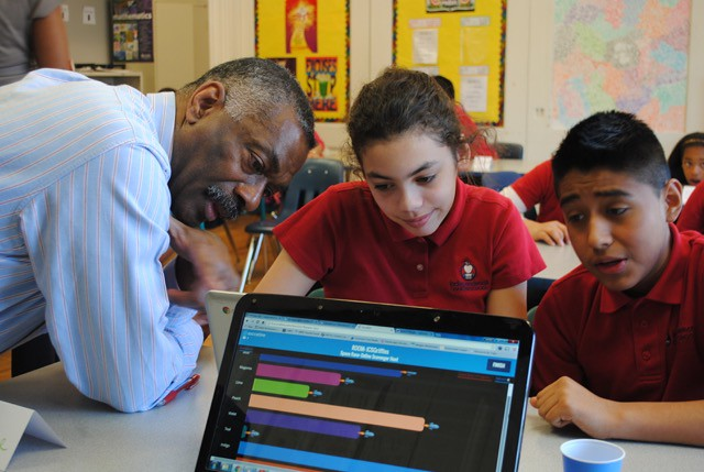 Career Day at Independence Charter   School with Penn Libraries 2015