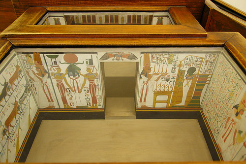 Model of Nefertari's Tomb