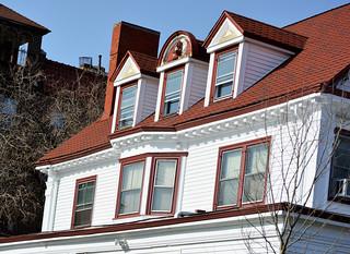 Old House's  windows
