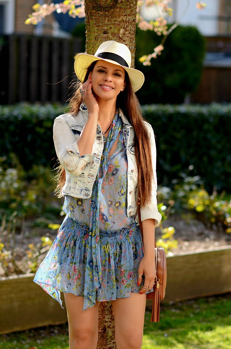 DSC_7971 Tamara Chloé, Zara Floral Dress, Panama Hat, Gucci Soho Disco Bag2