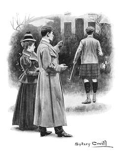 1897 illustration by Sydney Cowell
