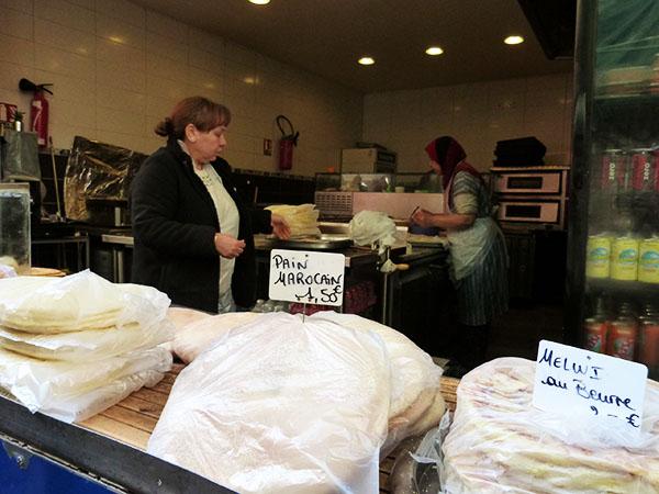 pain marocain et melwi