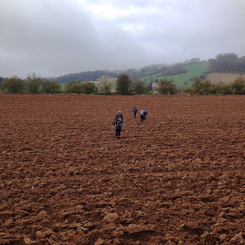 20150405_By Gerry West_Coventry CHA_Ploughed Field Crossing