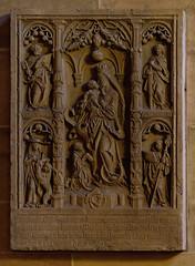 """Bremen, Deutschland, Dom """"St. Petri"""", monument to Brandis †1518"""