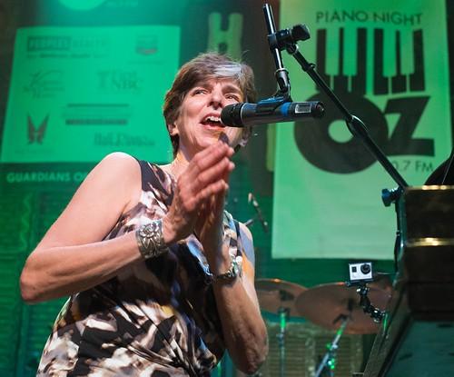 Marcia Ball at Piano Night. Photo by Marc PoKempner