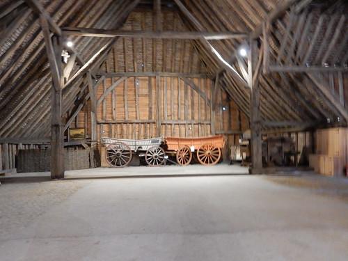 Inside Grange Barn