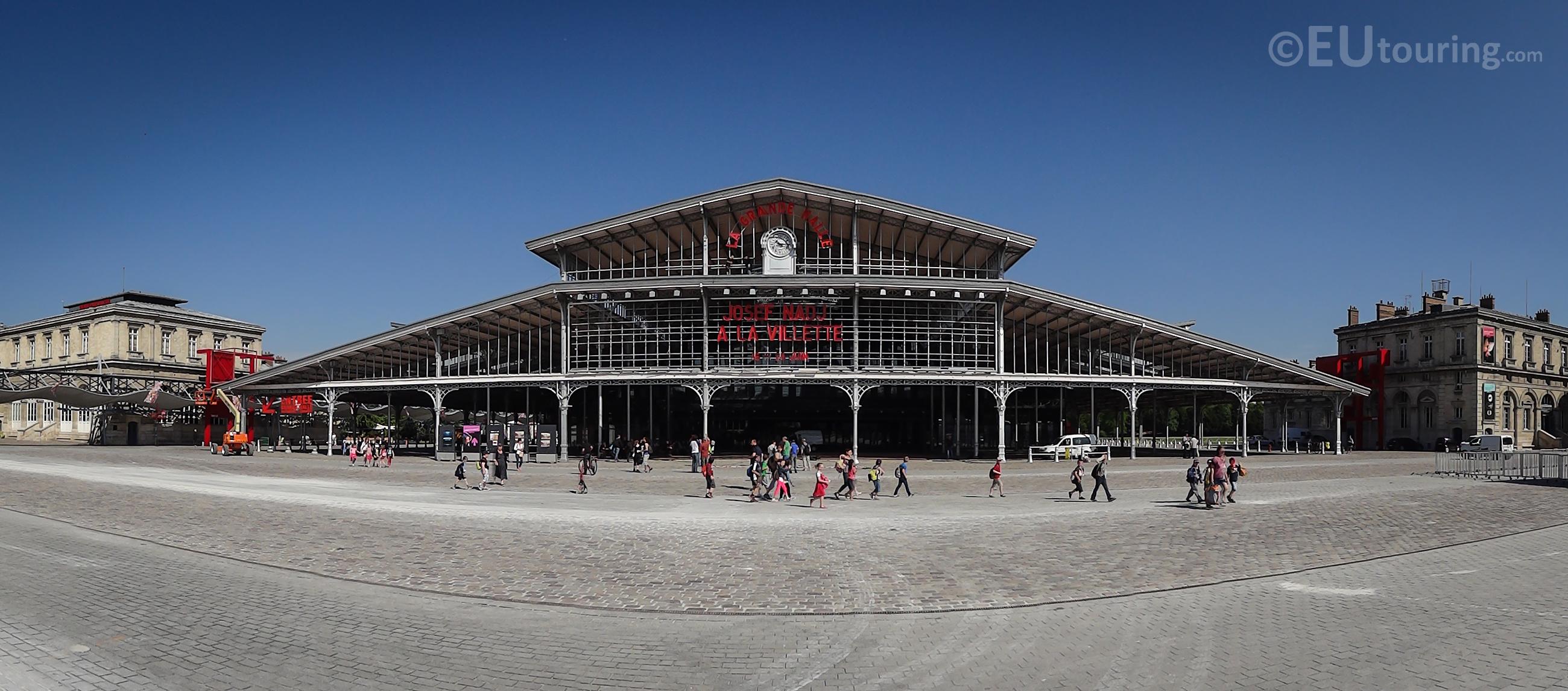 La Grande Halle panorama