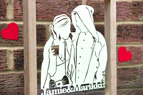 papercut couple
