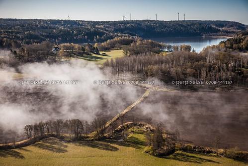 3 sverige vår dimma swe västragötaland bullaren hällevadsholm skulestad