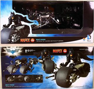 【玩具人柯爾必思投稿】MEDICOM MAFEX 008蝙蝠機車Bat-pod開箱介紹