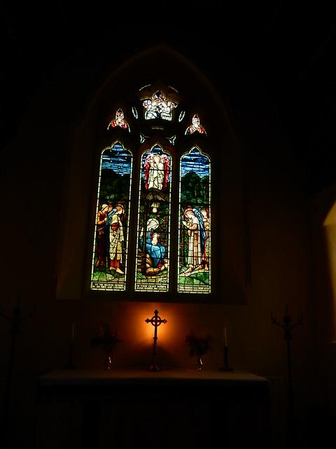 Window Longparish church