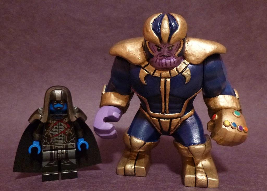 Custom Lego Big Fig Thanos Hd Photos And Wallpaper Directory