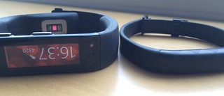 MIcrosoft Band versus Jawbone UP2