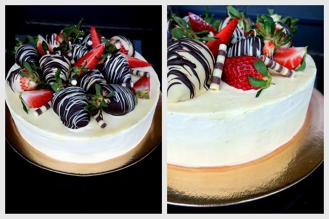 Maasika-valge šokolaadi