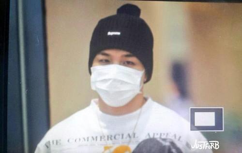 BIGBANG arrival ICN Seoul from Taiwan 2015-09-28 (3)
