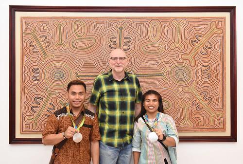 Steak Dinner Bersama Atlet Indonesia Peraih Medali Olimpiade