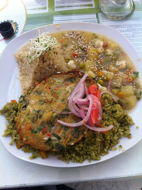 Healthy Vegan Meal in Puno