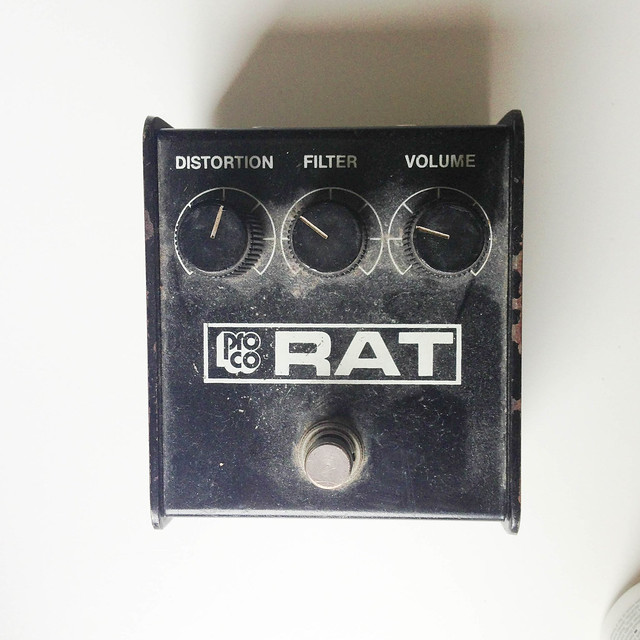Photo:ProCo Rat Distortion Pedal By David Hilowitz