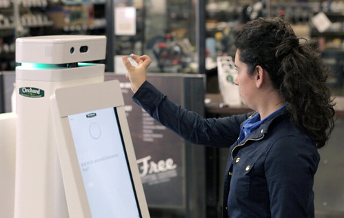 Its in-store robots are designed to help customers find what they need