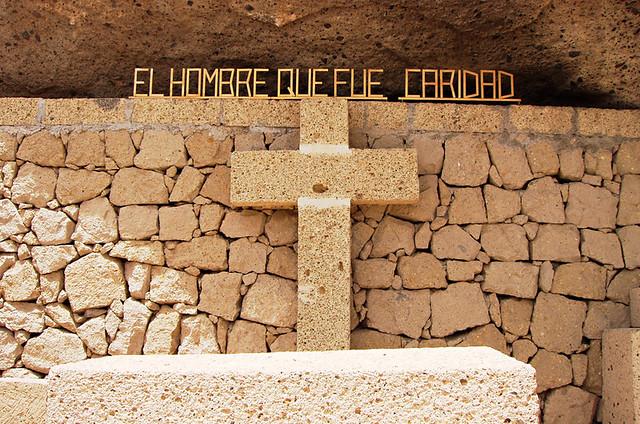Cross, Hermano Pedro Cave, El Medano, Tenerife