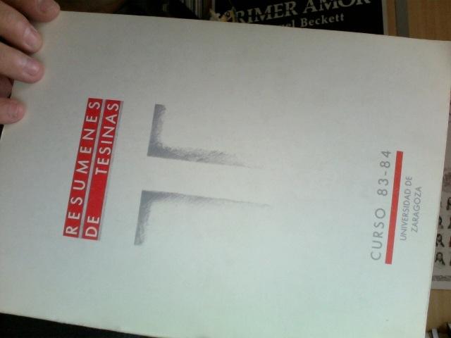 El libro donde sale mi primera publicación