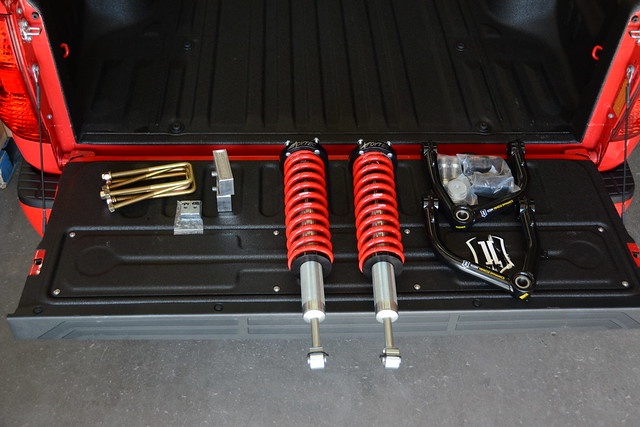 Toytec BOSS Lift Kit TCT Explorer 2015 Tundra CrewMax Toyota Truck