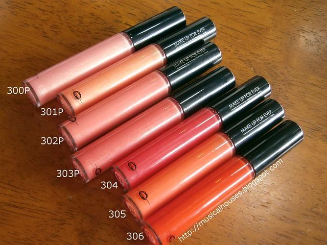 MUFE Artist Plexi Gloss Lipgloss 300s