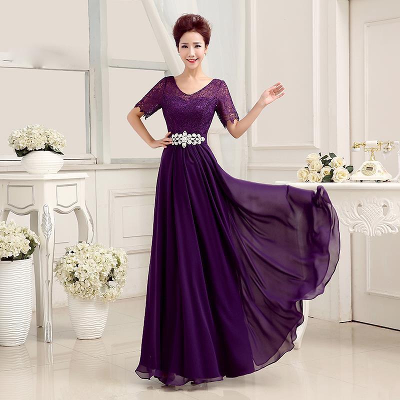Image result for váy dạ tiệc trung niên