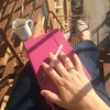 Daily writing practice 5 floors up on my sunny fire escape