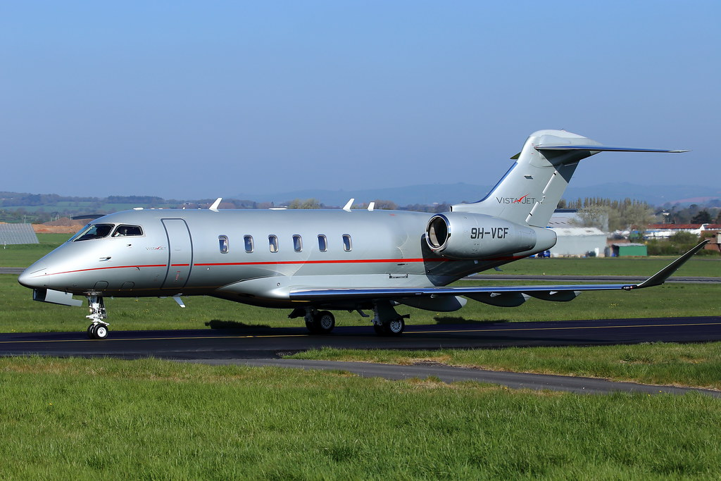 9H-VCF - CL35 - VistaJet