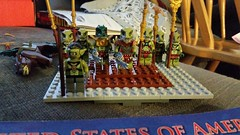 Croc army lead by Warlord Iron Jaw