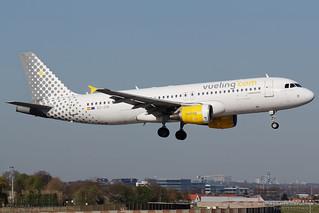 EC-JTQ, Vueling Airbus A320-200, BRU