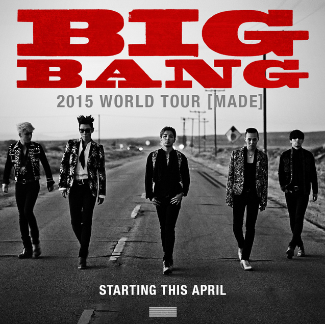 big bang made tour poster