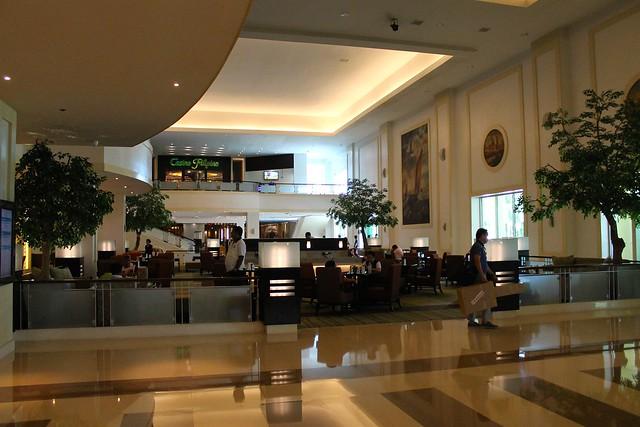 워터프론트 세부시티 호텔 로비