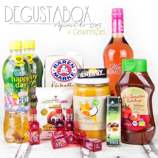 Degustabox April 2015, Degustabox Gewinnspiel, Gewinnspiel Blog-Geburtstag