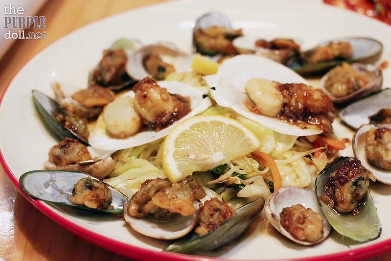 Mixed Shellfish Teppanyaki (P325)