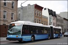 Novabus LFS Articulé - New York City Bus / MTA (Metropolitan Transportation Authority) + Select Bus Service n°5347
