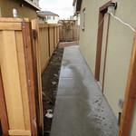 Side Yard Concrete Walkway In Vacaville