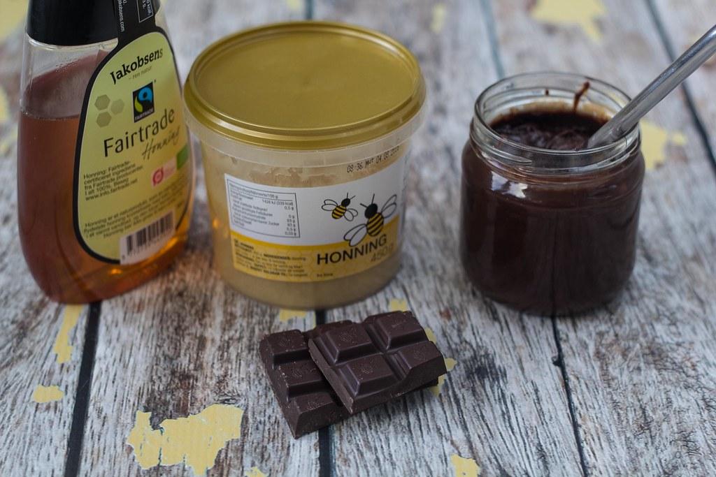 Opskrift på hjemmelavet chokoladepålæg med honning