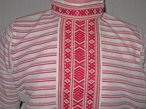Фрагмент мужской рубахи