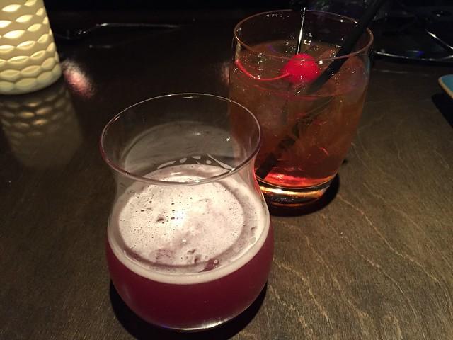 Concord grape & Manhattan - Aziza