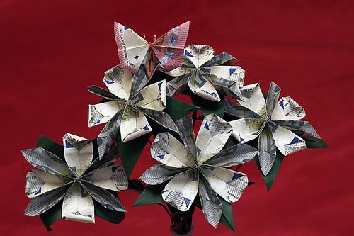 Origami Money-folding