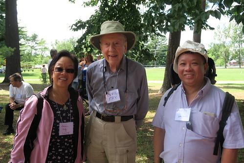 Jeanne Ing, Cyril Fry, David Ing