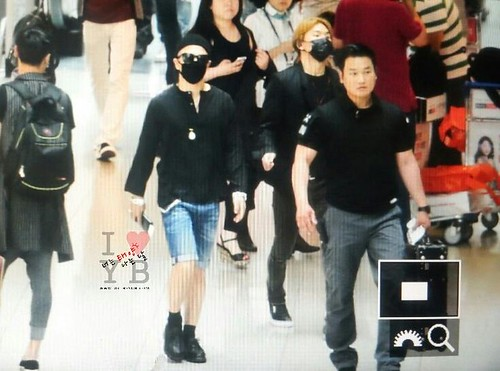 Big Bang - Incheon Airport - 29may2015 - Tae Yang - Urthesun - 03